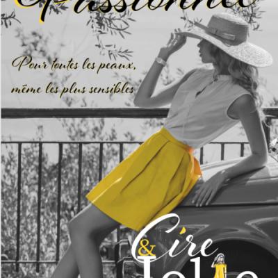 Poster passionne cire et jolie